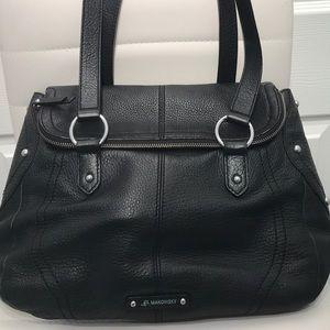 B. Makowsky Genuine Leather Women's Shoulder Bag.